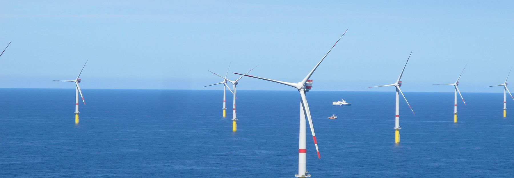Global Tech One offshore Windfarm on the north Sea (photo credits GT1)