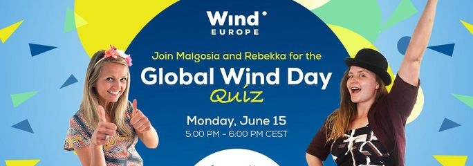 Sereema sponsors WindEurope's quiz Global Wind Day