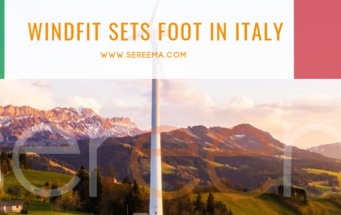 Windfit sets foot in Italy